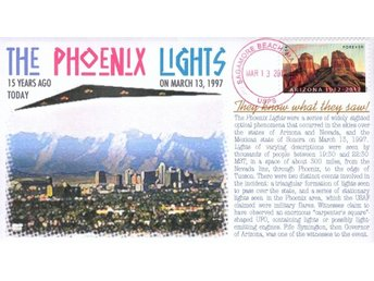 """Phoenix Lights"" 15th Anniversary Event Cover UFO's"