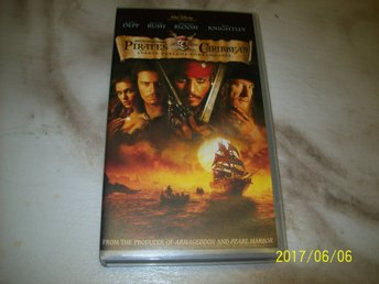 Pirates of the Caribbean - Svarta pärlans förbannelse -VHS