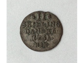 2 Skilling 1761 silver