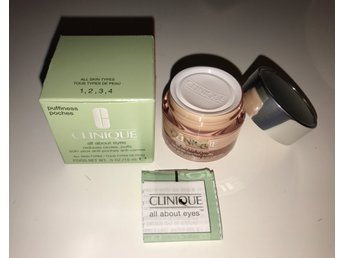 Clinique all about eyes Reduces circles,puffs anti aging all skin types 15 ml NY