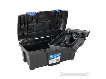 Toolbox – Tool Box Tough impact resistant plastic For DIY Pro 250294