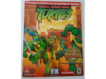 Teenage mutant ninja turtles primas official strategy guide signerad peter laird