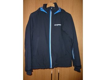 Everest Advanced tech softshell jacka 158 svart boys fodrad TCS water 10000