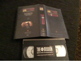 THE MISSION VHS TOUR OF SOUTH AMERICA 1988
