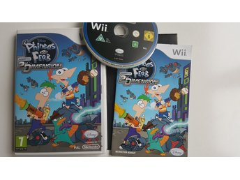 Phineas and Ferb: Across the Second Dimension  -  Wii / WiiU