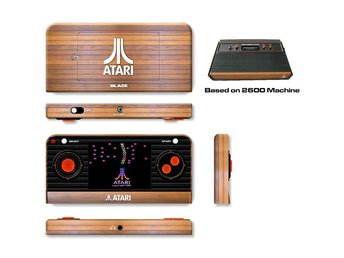 Atari Retro Handheld with 50 built-in games