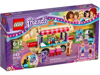 "LEGO Friends 41129 ""Amusement Park Hot Dog Van"" - helt ny / oöppnad!"