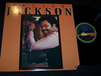 WALTER JACKSON - I WANT TO COME BACK AS A SONG LP TOPPSKICK!