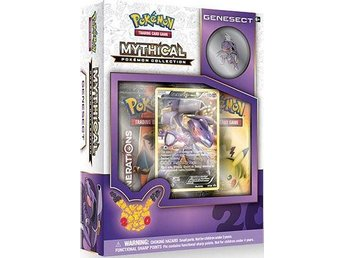 1st Pokémon Genesect Mythical Collection, Ny oöppnad.