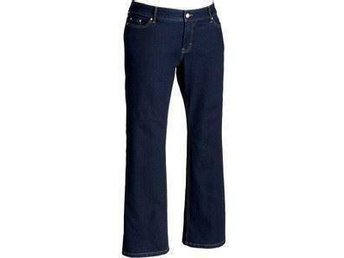 Stretch Navy Womens Dark Wash Plus Size Low-Rise Boot-Cut Jeans stl 44 Åhléns - Partille - Stretch Navy Womens Dark Wash Plus Size Low-Rise Boot-Cut Jeans stl 44 Åhléns - Partille