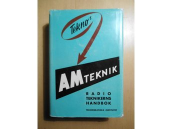 #### TEKNO'S AM-TEKNIK, MINT CONDITION, UTGIVEN 1962 ####
