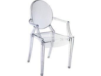 Ghost Chair-kartell miniatyrmodell - Domsjö - Ghost Chair-kartell miniatyrmodell - Domsjö