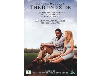 The Blind Side DVD *Ny/Inplastad