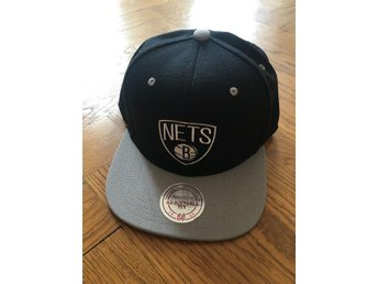 Brooklyn Nets NBA Snapback Keps Mitchell & Ness M&N