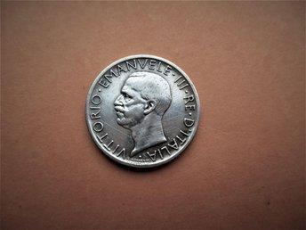 Italy, 5 lire, 1927 Vittorio Emanuele III - Ninove - Italy, 5 lire, 1927 Vittorio Emanuele III - Ninove