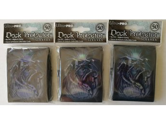 Deck Protector Sleeves Blue Diamond Dragon 50ct  - 3 paket