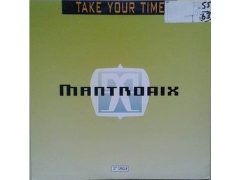 "Mantronix title* Take Your Time* House 12"" US"