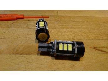 2st Vita canbus T15 t10 w16w 4300k Wedge LED backljus bmw volvo vw 12v - Veinge - 2st Vita canbus T15 t10 w16w 4300k Wedge LED backljus bmw volvo vw 12v - Veinge