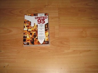 "DVD film ""United 93 (Den 11 sept 2001 kapades 4 plan)"