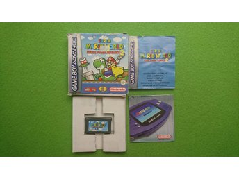 Super Mario World Super Mario Advance GBA Gameboy Advance Nintendo GBA