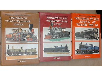 Tre Railways of the World in Colour. 1. The dawn of world railways 1800-1850.