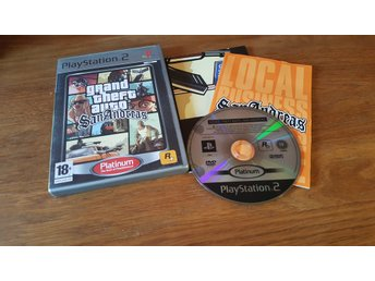 GRAND THEFT AUTO SAN ANDREAS PS2 BEG