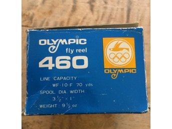 OLYMPIC 460 FLY REEL MED ORIGINAL LÅDA