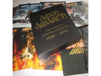 Amon Amarth -Complete Albums Collection 1998-2016 10LP BOX