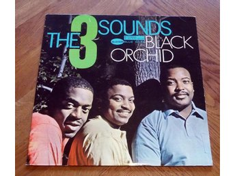 THE THREE SOUNDS Black Orchid  US BLUE NOTE Jazz 1962 EX