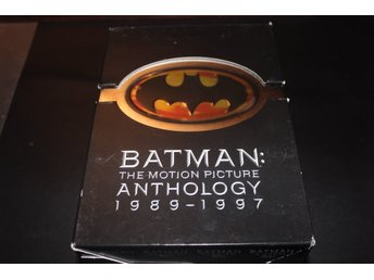 DVD-box: Batman: The motion picture Anthology 1989-1997 - 4 filmer (8 disc)
