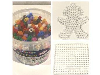 Hink Maxi pärlor med 5st pärlplattor (339876281) ᐈ Köp på Tradera d9f47554b05e2