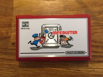 Nintendo Safebuster game & watch multi screen