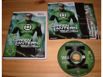Wii: Green Lantern Rise of the Manhunters