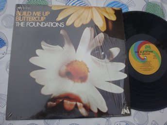 THE FOUNDATIONS - BUILD ME UP BUTTERCUP LP 1968