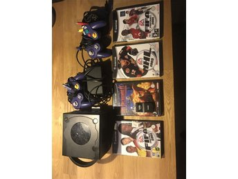 Game cube med 4 spel