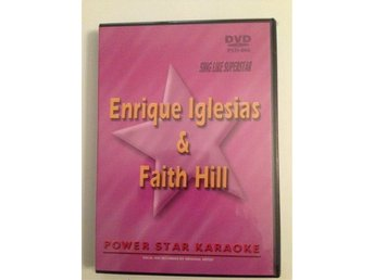 ENRIQUE IGLESIAS & FAITH HILL. POWER STAR KARAOKE. INPLASTAD