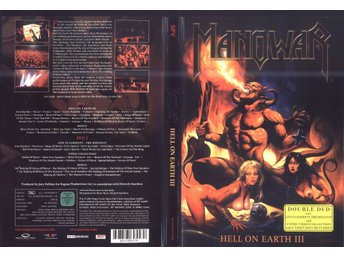MANOWAR  Hell On Earth 3/ Live In Germany - The Ringfest/ Video Collection 2DVD