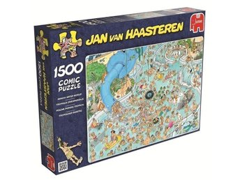 FABRIKSNYTT!! Pussel från Jan van Haasteren Whacky water world!!