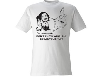 Ron Jeremy / Don't know who I am? - M (T-shirt)