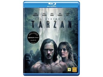 The Legend of Tarzan [Blu-ray] Ny / inplastad / nordiskt omslag