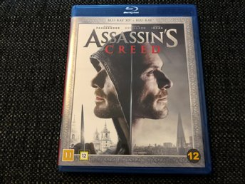 ASSASSIN'S CREED (2016, BLU-RAY 3D + BLU-RAY)