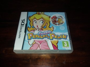 Super Princess Peach, DS, Fint Skick!