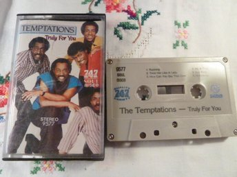 THE TEMPTATIONS, TRULY FOR YOU, TREAT HER LIKE A LADY, KASSETT, KASSETTBAND