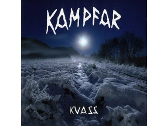 Kampfar -Kvass lp ORIGINAL 2006 press Numbered viking black