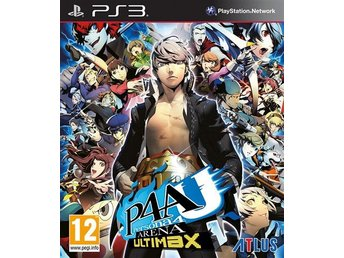 Persona 4 Arena - Ultimax - Playstation 3