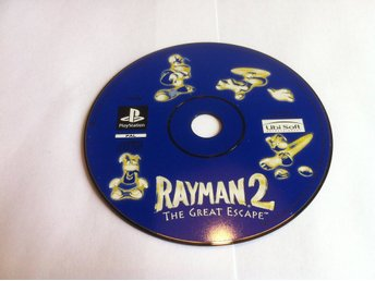 PS1/PSone: Rayman 2 (II) The Great Escape (Enbart skivan)