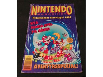 Nintendo Magasinet Nr 6 1993 inkl. Power Player