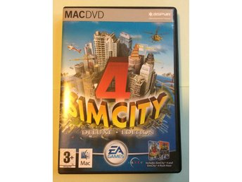 Simcity 4 - Deluxe edition - MAC
