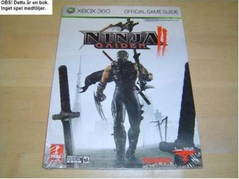GUIDE WALKTHROUGH NINJA GAIDEN MICROSOFT XBOX 360 *NYTT*