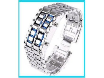 NYA! Iron Samurai Cool Trendig Digital LED Klocka Armbandsur